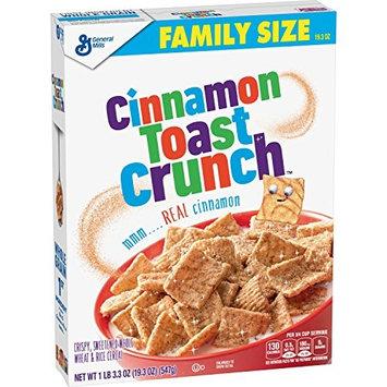Cinnamon Toast Crunch Breakfast Cereal, Family Size, 19.3 Oz