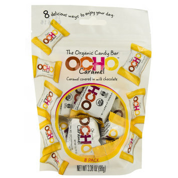 OCHO Organic Candy Bar Caramel -- 3.38 oz