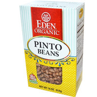 Eden Foods, Organic Pinto Beans, 16 oz (pack of 12)