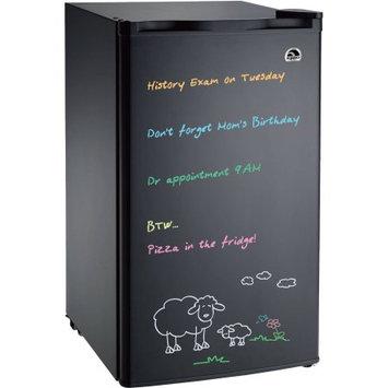 Curtis International Ltd Igloo FR326M-D-BLACK Erase Board Refrigerator with Neon Markers, 3.2 cu. ft, Black