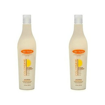 de-luxe COLORSAVE Shampoo for Color-Treated Hair 14 fl oz (2 Pack)