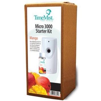 Timemist 3000 Shot Micro Starter Kit, Mango, White/gray TMS326360TMCA