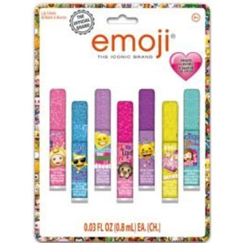 Townley Girl Super Sparkly 7 Pack Party Favor Lip Gloss, 7 CT