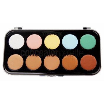 JPNK Professional 10 Color Concealer Camouflage Makeup Palette