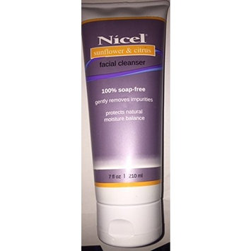 Nicel Citrus Sunflower Facial Cleanser 7 Ounce