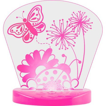 Lights By Night USB Acrylic Night Light, Butterfly