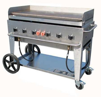 Crown Verity Mobile 48 Inch MG 48 Outdoor Griddle Grill