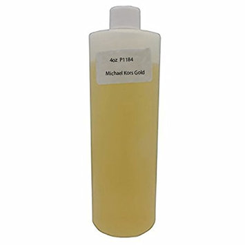 P1184 Orange - Bargz Perfume - Michael Kors Gold Body Oil For Women Scented Fragrance