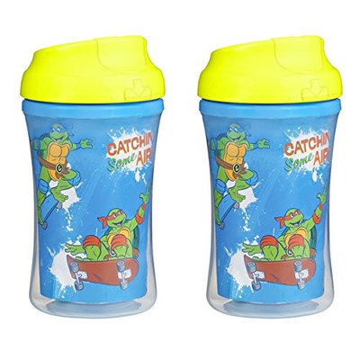 Nuk Gerber Graduates Teenage Mutant Ninja Turtles Insulated Cup Like Rim Sippy Cup - 9-Ounce - 2 Pack