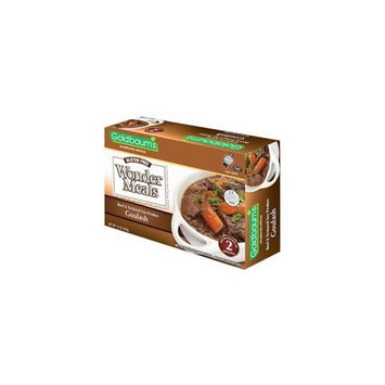 Goldbaum's Beef Goulash Wonder Meals, Gluten-Free 12 oz (Pack of 6)