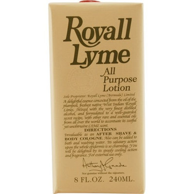 Test Royall Lyme Men's 8-ounce Aftershave Lotion Cologne
