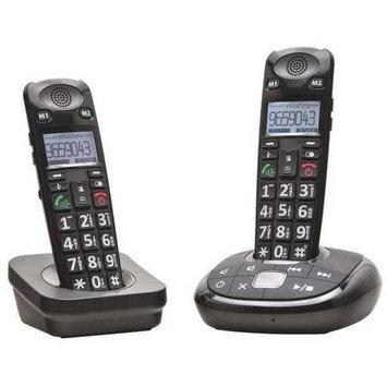 Clearsounds Telephone, Black,2 Handsets Model: CS-A700BUN