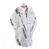 YJYdada Hair Salon Cutting Barber Hairdressing Cape For Haircut Hairdresser Apron Sketch