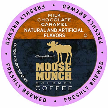 Moose Munch Coffee in Single Serve Cups for use with all Keurig K-Cups Brewers 36 Count (Milk Chocolate Caramel)