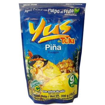 Malher Yus Pineapple Powder Drink 12.7 oz (Pack of 6)