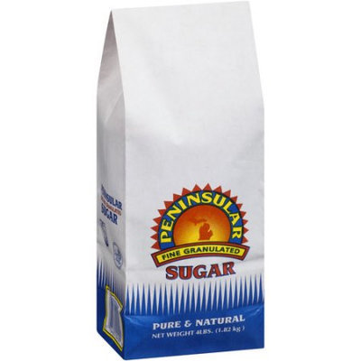 Peninsular Fine Granulated Sugar - 1 Bag (4 lb)