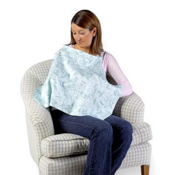 Cara Mia Baby - Organic Cotton Nursing Cover Up, Blue Meadow