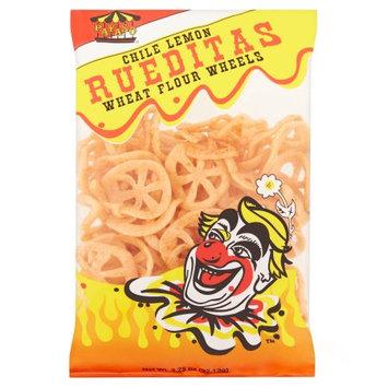 Proveedora De Alimentos Del Pacifico Y Cia Payaso Chile Lemon Rueditas Wheat Flour Wheels, 3.25 oz