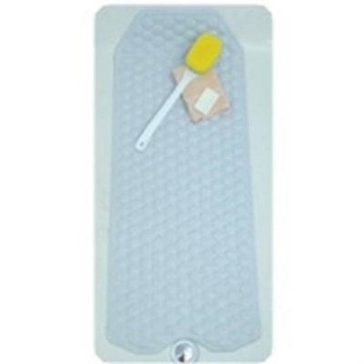 Mabis DMI No-Skid Cushioned Bath Mat, 15-3/4