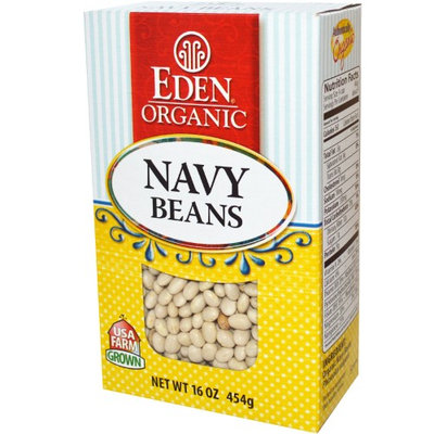 Eden Foods, Navy Beans, 16 oz (pack of 4)