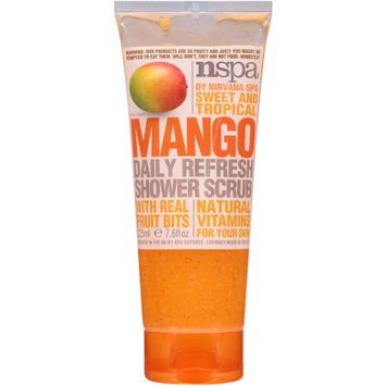 N.spa NSPA Sweet and Tropical Mango Daily Refresh Shower Scrub, 7.6 fl oz
