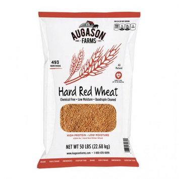 Blue Chip Group Augason Farms Hard Red Wheat, 493 Servings, 18 Month Shelf Life, 50 Pound Bag