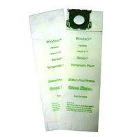 Green Klean Replacement Vacuum Bags for Windsor Sensor/Versamatic Plus, XP 12, 15, & 18,Triple Layer Bag, All Star Javelin 12 Series, Kenmore 50015 Ultracare, SSS