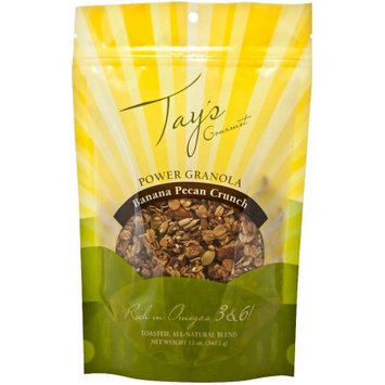 Tay's Gourmet Banana Pecan Crunch Power Granola, 12 oz