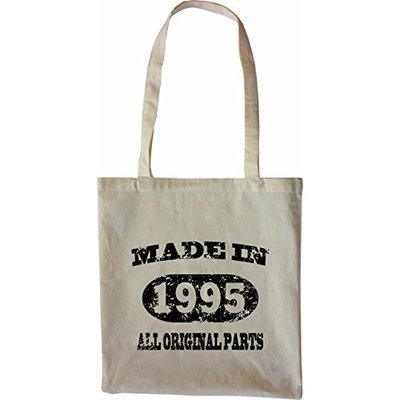 Mister Merchandise Tote Bag Made in 1995 All Original Parts 20 21 Shopper Shopping , Color [Black]