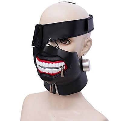 DEYSSNE 3D Adjustable Tokyo Ghoul Kaneki Ken Anime Cosplay Mask Halloween Mask
