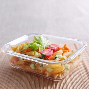 Square Borosilicate Glass Food Storage Container