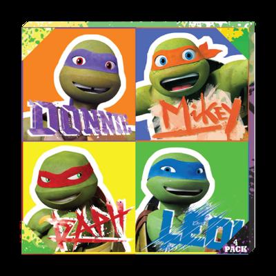 Edge Home Ninja Turtles Canvas Gift Set