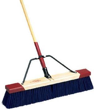 Harper 24in Stiff Push Broom in Blue (9424A)