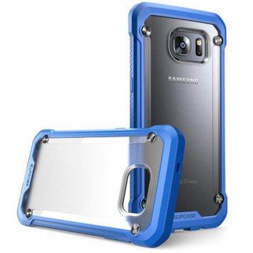 SUPCASE Galaxy S7 Edge Unicorn Beetle Hybrid Bumper Case - Blue