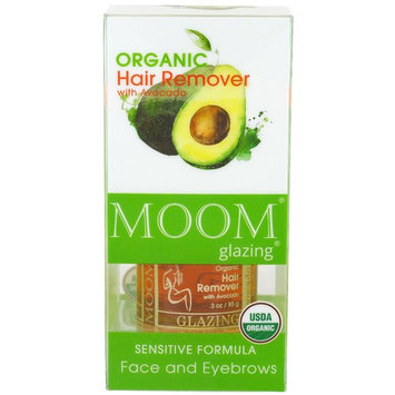 MOOM® Glazing® Organic Hair Remover With Avocado