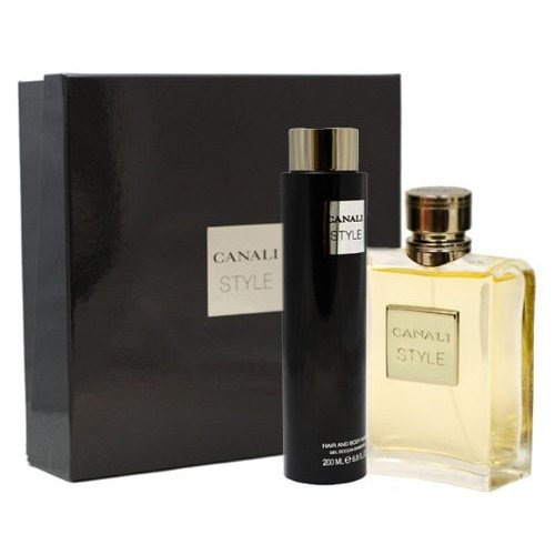 Canali Style By Canali For Men Gift Set (Eau De Toilette Spray 3.4-Ounce / 100 Ml + Hair & Body Wash 6.8-Ounce / 200 Ml)