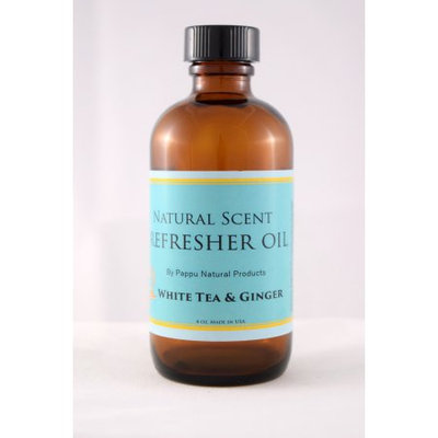 Pappu Natural Products Corp. Pappu Refresher Oil 4 oz. White Tea & Ginger * All Natural Aromatherapeutic & Antioxidant