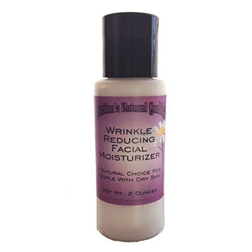 Christina's Natural Qualities All Natural Herbal Wrinkle Reducer Facial Moisturizing Lotion with Essential Oils + Hyaluronic Acid