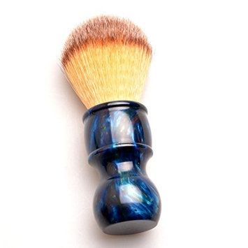 CSB SYNTHETIC Bristle Shaving Brush with Deep Blue Colorful Resin Handle