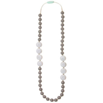 Mama & Little® Sofia Silicone Teething Necklace- Marble