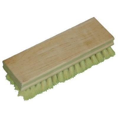 Zephyr 52207 Tampico Hand Scrub Brush with Square Wood Block, 7