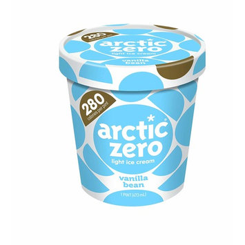 Pack of 6, Arctic Zero Light Ice Cream, Vanilla Bean Pint [Vanilla Bean]