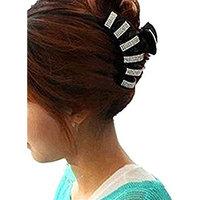 cuhair 1pc Crystal Rhinestone Big Hair Claw Design For Women Girl Hair Clip Hair Barrette Hairpin Hair Accessories