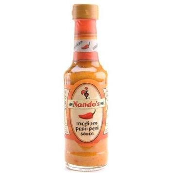 Nando's Medium Peri Peri Sauce, 4.7-Ounce Bottles (Pack of 6)