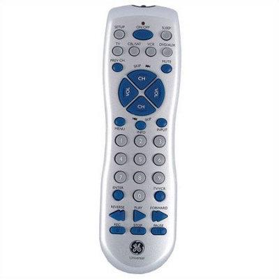 GE Universal Remote Control - TV, VCR, Cable Box, DVD Player, Satellite Box, CD Player - Universal Remote Control