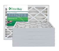 AFB Platinum MERV 13 11.25x23.25x2 Pleated AC Furnace Air Filter. Filters. 100% produced in the USA. (Pack of 6)
