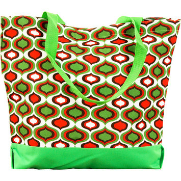 SLM Large Printed Shopper Tote Bag