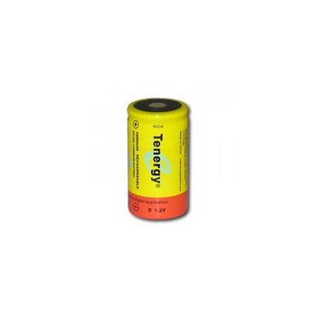 Tenergy D Size Rechargeable Battery 1.2V 5000mAh NiCD Flat Top