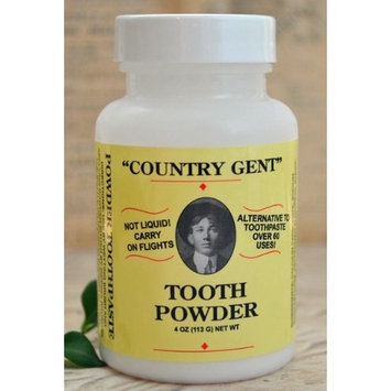 Country Gent Tooth Powder: Family Affordable, Alternative to Toothpaste