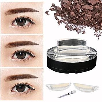Binmer(TM) Brow Stamp Powder Delicated Natural Perfect Enhancer Straight United Eyebrow